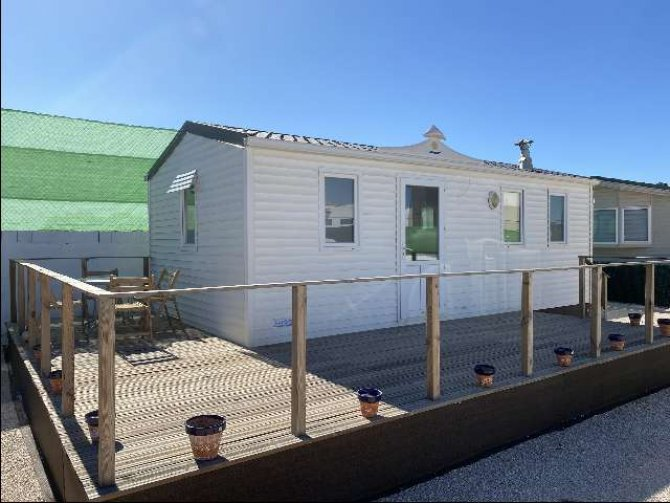 2 bedroom mobile home for long term rental in Albatera.