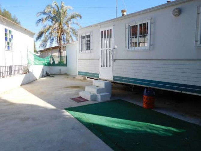 Mobile home on a 100m2 freehold plot, Mi-Sol Park
