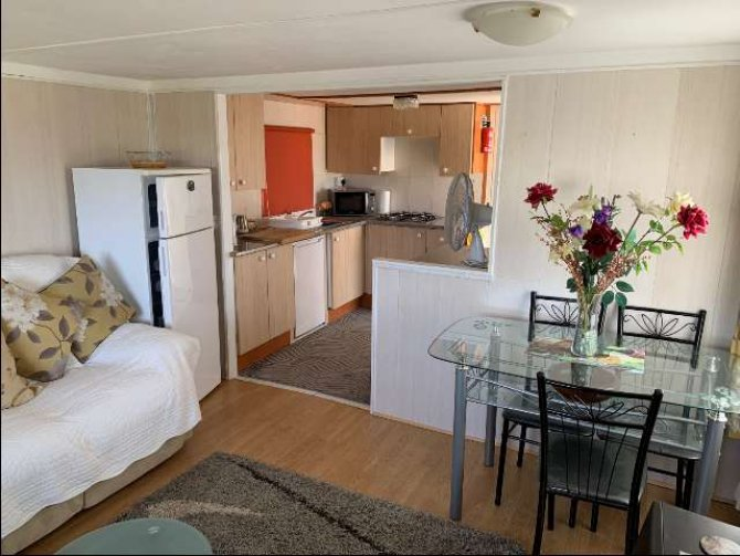 Mobile home with sea views for under 17,000