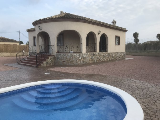 Luxury Villa with private pool in Catral