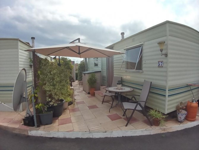 Willerby Jupiter 1 bed, 1 bath mobile home with sea views