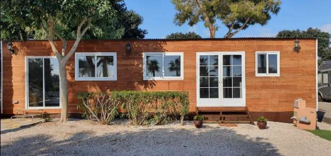 Fantastic Offer! New Wooden chalet on a large plot close to Torrevieja