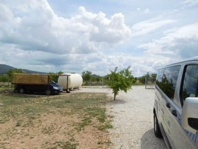 Investment opportunity, 4,500 m2 plot of land with permission for 4 mobile homes.