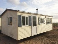 RS1222 RESERVED  Unsited 3 bedroom Sunroller mobile home for only 9,800€ (1)