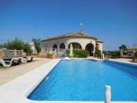 Stunning detached villa with pool, in Catral (0)