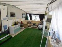 Hobby Landhaus caraven with large awning (8)