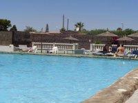 Plot for caravan or small motor-home for rent on Mi-Sol Park Torrevieja. (27)