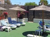 Plot for caravan or small motor-home for rent on Mi-Sol Park Torrevieja. (25)