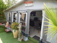 Amazing caravan and awning on 140m2 plot (1)