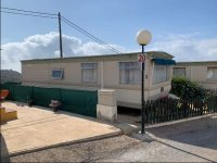 Static caravan by the sea, on the Costa Blanca. (1)