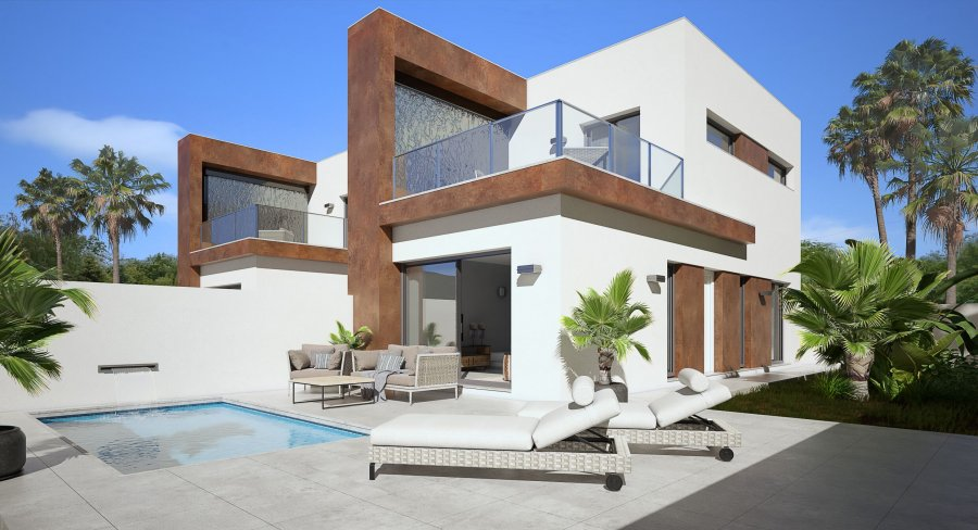 MODERN OPEN PLAN VILLAS
