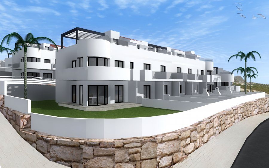 BEAUTIFUL TOWNHOUSES in FINESTRAT