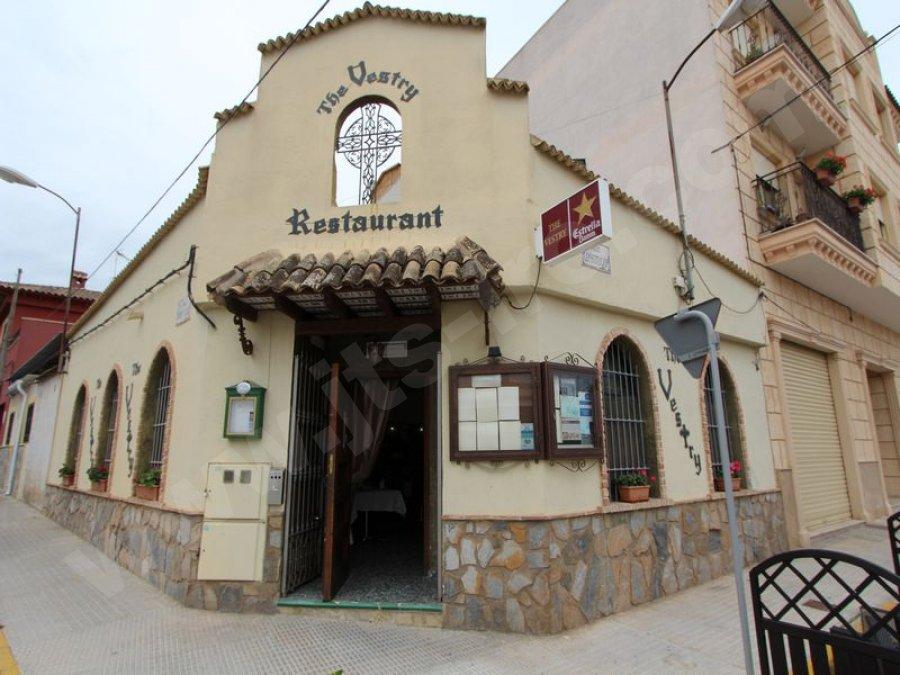 Award Winning Restaurant For Sale in Algorfa