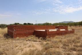 Land of 10,287m2 with foundations and permits to build your own home (3)