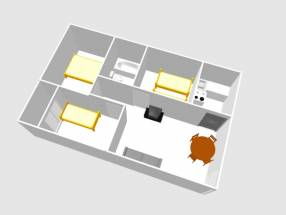 A 3 bedroom 1 bathroom apartment  (17)