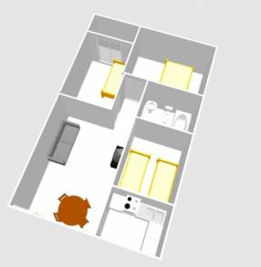 A 3 bedroom 1 bathroom apartment  (18)