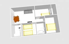 A 3 bedroom 1 bathroom apartment  (19)