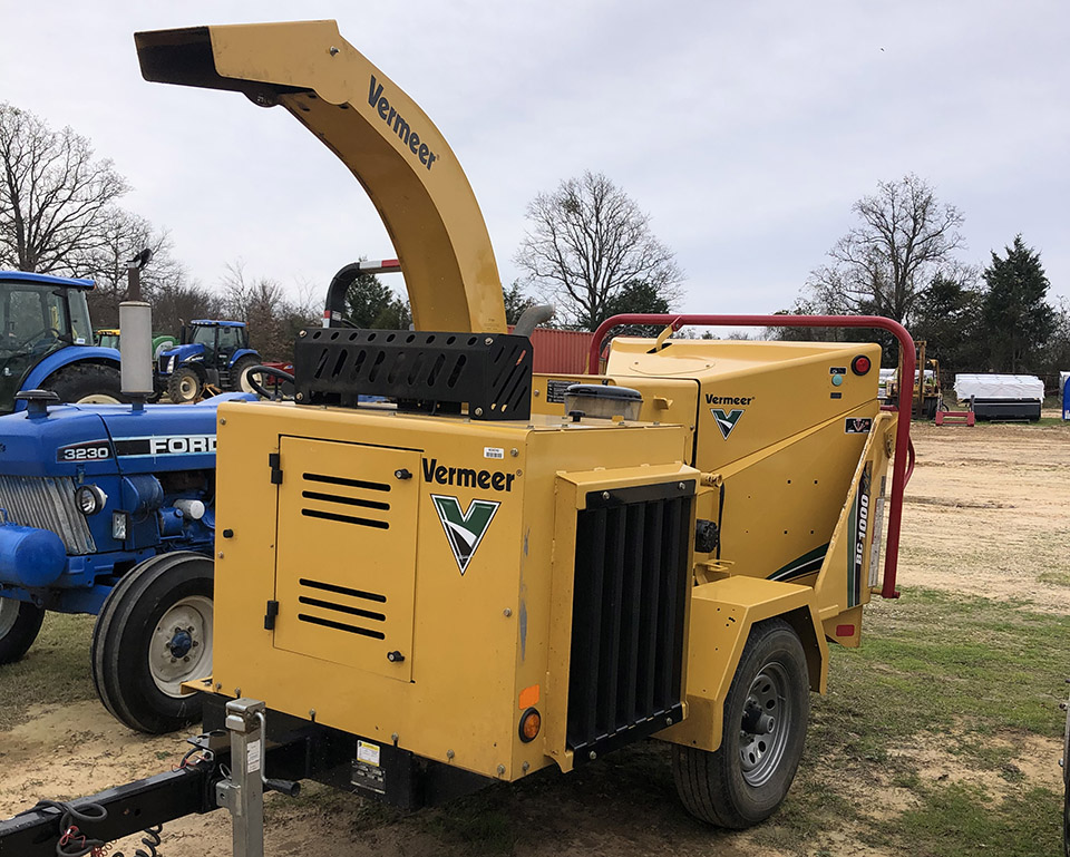 Used 2017 Vermeer BC1000XL Brush Chipper