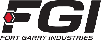 Company logo for 'FORT GARRY IND - CAL'.