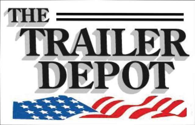 Company logo for 'THE TRAILER DEPOT'.