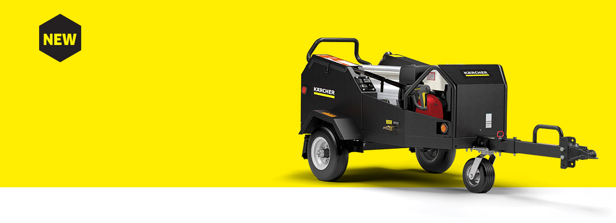 Karcher hot water pressure washer