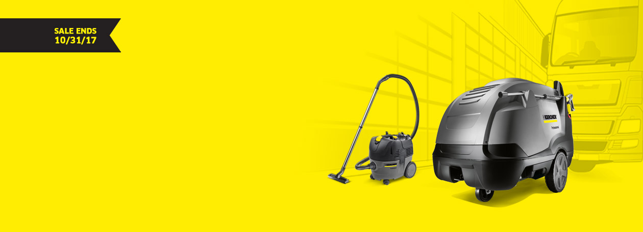 Karcher Fall Free-For-All Promotion