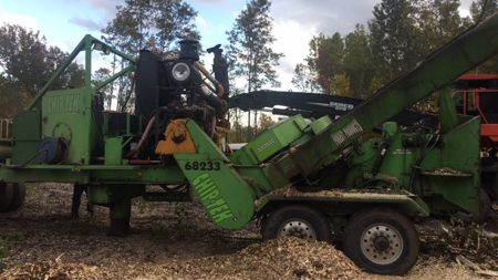 Used Chip-Tek/Treland Whole Tree Chipper