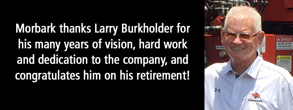 Larry Burkholder Retires
