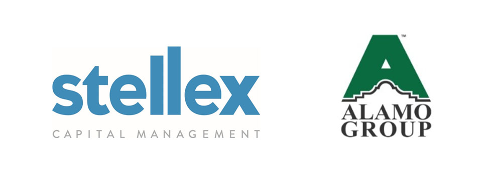 Stellex Capital Management and Alamo Group Logos