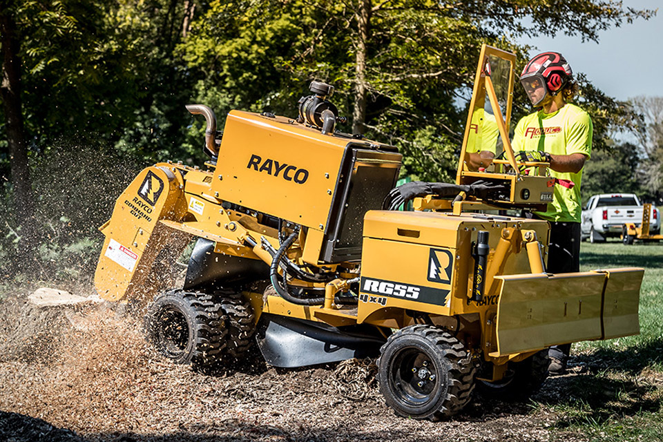 Rayco RG55 Stump Cutter