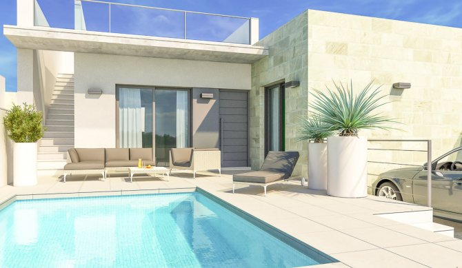 Stunning villas including white goods and private pool close to all amenities
