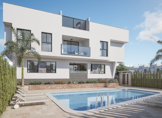 Stunning apartments just 100m from the beach