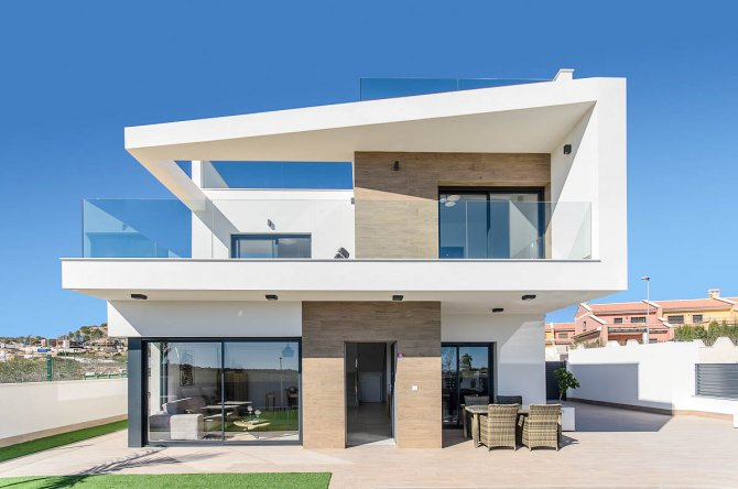 Stunning detached villas with fantastic views