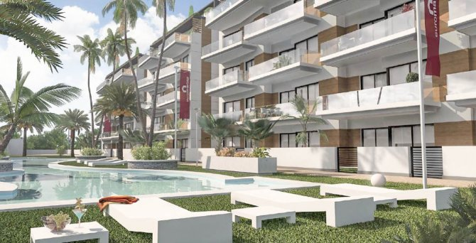 Good sized modern apartments close to the beach in Guardamar