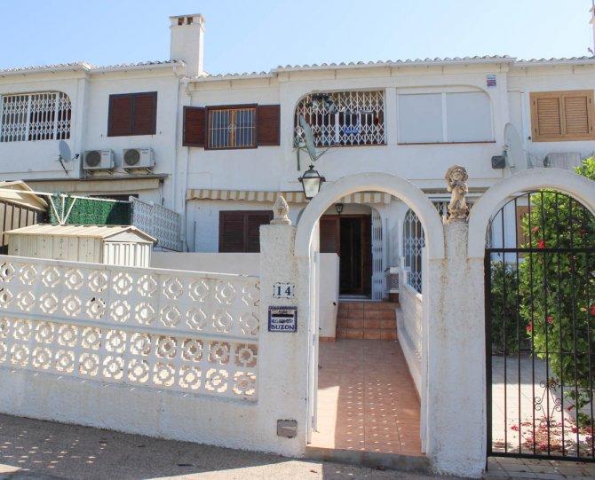 Beachside townhouse in Playa Flamenca