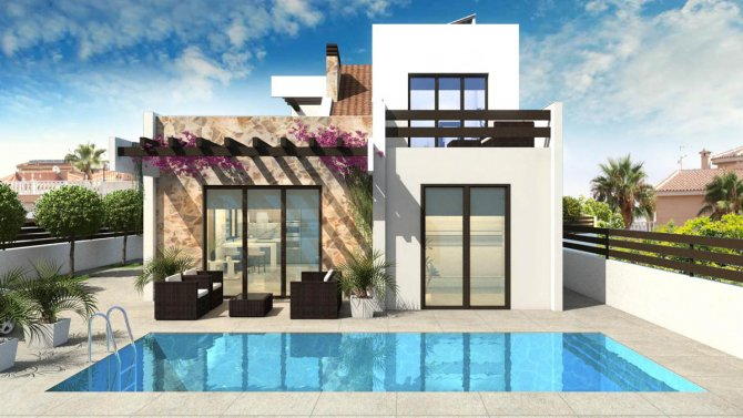 Spacious modern villas next to La Marquesa Golf course