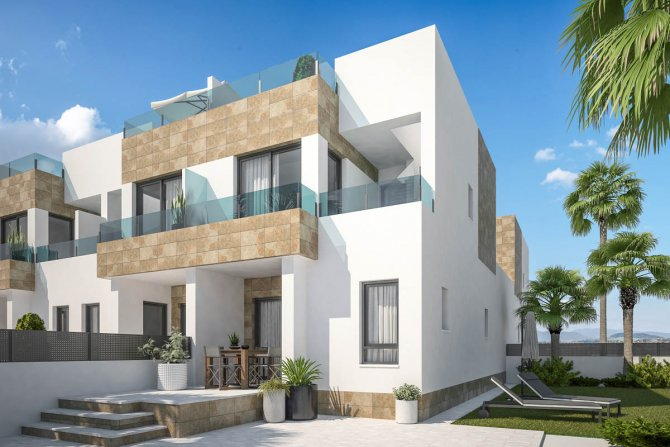 Lovely modern townhouses close to Villamartin Golf