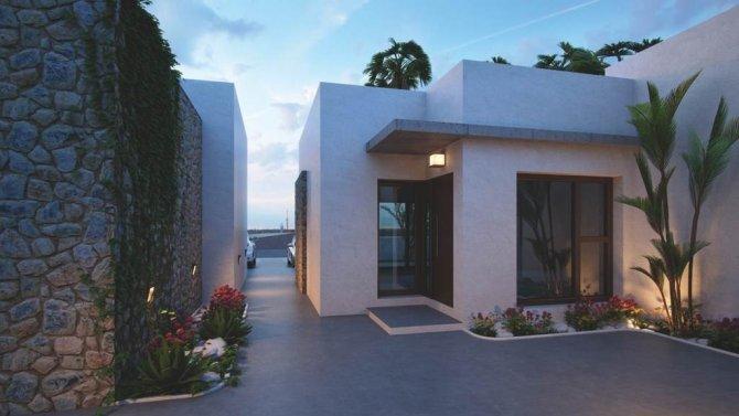 3 bedroom Mediterranean villas with modern and elegant lines