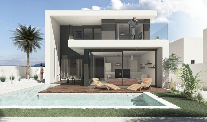 Signature style detached villas with private pool
