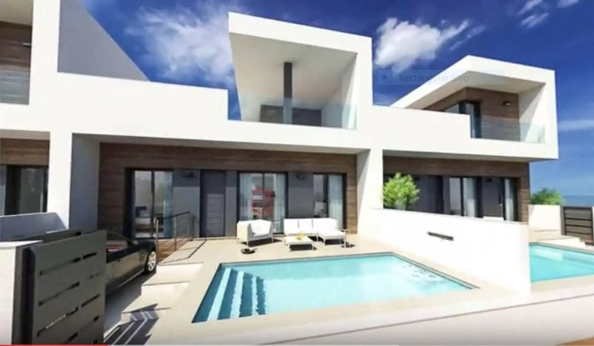 Stylish contemporary townhouses with pool and white goods included