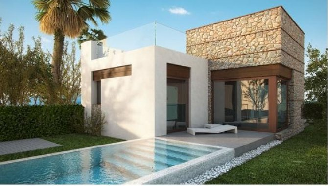 Luxury 2 bed/2 bath villas with private pool superbly situated over looking the prestigious La Finca Golf course