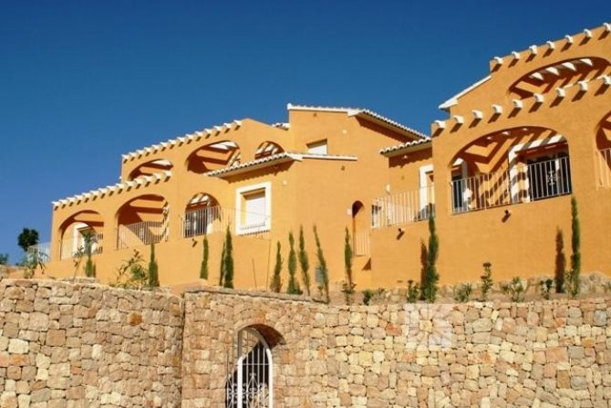 Exclusive complex of 24, 2 or 3 bed apartments in 3 storey blocks with large private terraces, and fantastic sea views