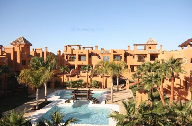 Luxury 2 bed townhouses with communal pool in a small complex .