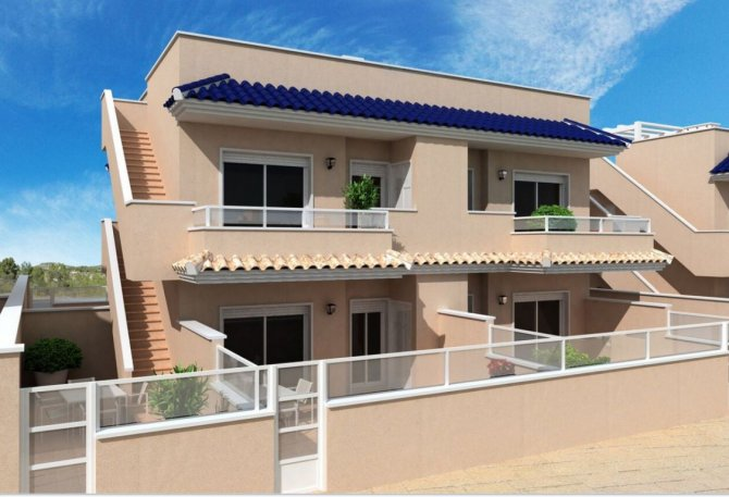 Luxury new complex of 2 bed and 2 bath apartments with 2 communal pools, SPA, JACUZZI and GYM