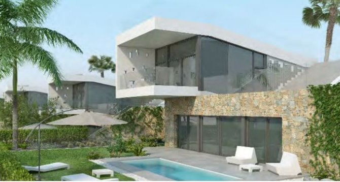 Luxury spacious villas on plots of 440m2+  over looking the prestigious La Finca Golf course