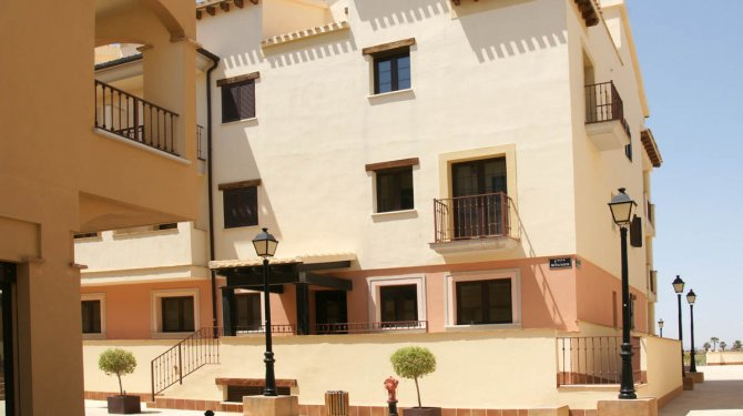 3 bed apartments at Pueblo Espanol, on the luxury Hacienda del Alamo Golf Resort.
