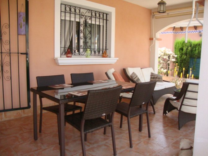 LONG TERM RENTAL (Minimum six months). Attractive well presented detached villa