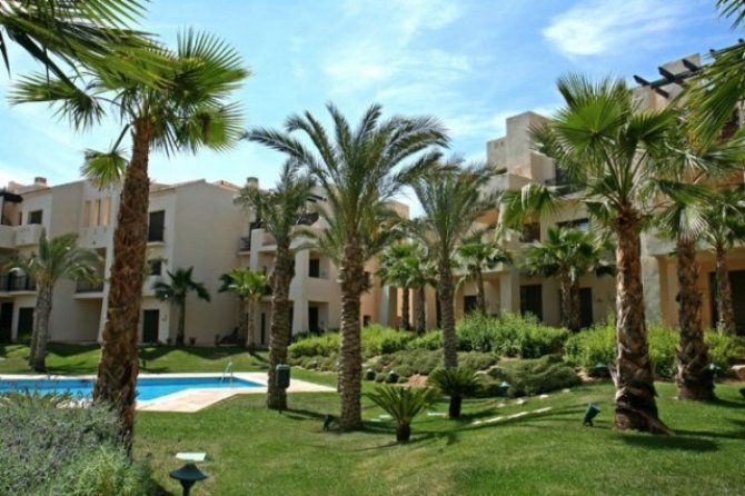 Apartment located at Roda Golf and Beach Resort set around an 18 hole golf course