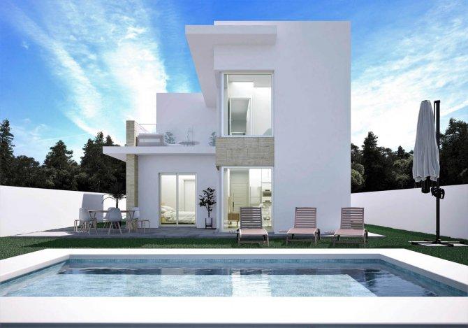 Modern villa with choice of plots