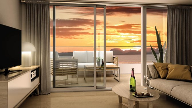 Luxury apartment block on the La Manga strip with Fantastic views